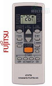 CONTROLE PARA AR CONDICIONADO SPLIT FUJITSU KOMECO YORK RHEEN  FBG-9040 1ª LINHA
