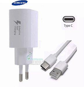 CARREGADOR SAMSUNG USB TIPO C 5V 2A BRANCO ORIGINAL