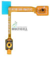 FLEX BOTÃO POWER SAMSUNG N7100 GALAXY NOTE 2 ORIGINAL