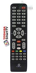 CONTROLE REMOTO TV SEMP TOSHIBA SMART TCL FBG-8026 1ª LINHA
