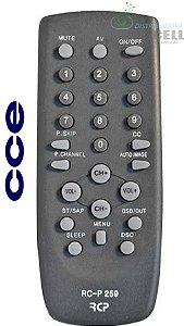 CONTROLE REMOTO TV CCE TUBO FBG-7179 1ªLINHA