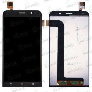 GABINETE FRONTAL MODULO COMPLETO LCD DISPLAY TOUCH SCREEN ASUS ZB552KL ZENFONE GO PRETO 1ª LINHA (QUALIDADE AAA)