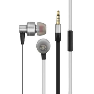 FONE DE OUVIDO PREMIUM IN-EAR EARPHONES STEREO AUDIO PH156 CINZA