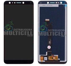 GABINETE FRONTAL MODULO COMPLETO LCD DISPLAY ASUS ZC600KL ZENFONE 5 SELFIE PRETO 1ªLINHA QUALIDADE AAA