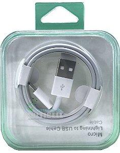 CABO USB V8 PARA SMARTPHONES COM CAIXINHA DE ACRILICO