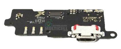 PLACA FLEX CONECTOR USB DOCK DE CARGA MICROFONE LENOVO K10A40 K10 VIBE C2 ORIGINAL