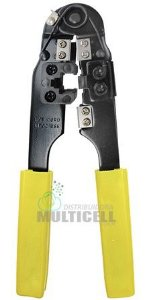 ALICATE DE CRIMPAR CABOS DE REDE 3 EM 1 HIKARI HK-300 HK300 CONECTORES RJ-45