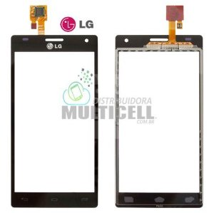 TELA TOUCH SCREEN LG P880 LG OPTIMUS 4X HD PRETO 100% ORIGINAL