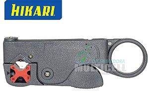 DECAPADOR PARA CABO COAXIAL COM CHAVE ALLEN 2mm HK-311 HIKARI