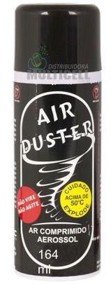 SPRAY AR COMPRIMIDO EM LATA AIR DUSTER IMPLASTEC 200G 164mL