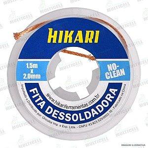 FITA MALHA DESSOLDADORA NO-CLEAN HIKARI 1,5m x 3,0mm HK 120-05