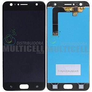 GABINETE FRONTAL DISPLAY LCD MODULO COMPLETO ASUS ZD553KL ZENFONE 4 SELFIE  PRETO 1ª LINHA QUALIDADE AAA