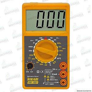 MULTÍMETRO DIGITAL HIKARI HM-1001 HM 1001 PROFISSIONAL