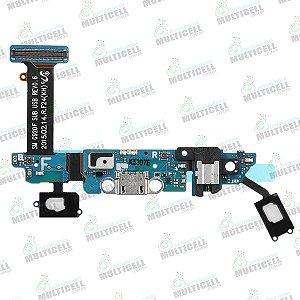 FLEX CONECTOR DE CARGA MICROFONE SENSOR TEC SAMSUNG G920F S6 EDGE QUALIDADE AAA