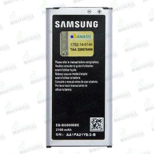 BATERIA SAMSUNG EB-BG800BBE G800 GALAXY S5 MINI (COM CHIP TURBO)