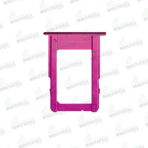 GAVETA DE CHIP (SIM 1) SAMSUNG J415 J4 PLUS J610 J6 PLUS VERMELHO ROSE ORIGINAL