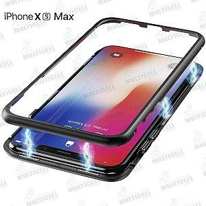 CAPA CASE MAGNÉTICA APLLE IPHONE XS MAX PRETA