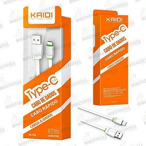 CABO USB KAIDI KD-TC30 TIPO C ORIGINAL