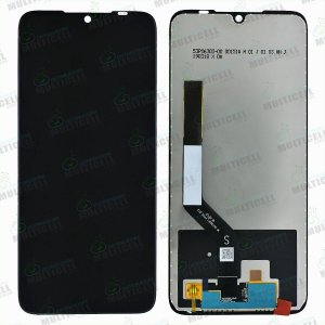 GABINETE FRONTAL DISPLAY LCD XIAOMI REDMI NOTE 7 M1901F7G / NOTE 7 PRO M1901F7BE PRETO 1ªLINHA QUALIDADE AAA