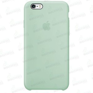 CAPA CASE SILICONE APLLE IPHONE 6S MMWF2ZM/A VERDE AGUA