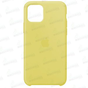 CAPA CASE SILICONE APLLE IPHONE 11 MWVX2ZM/A AMARELA