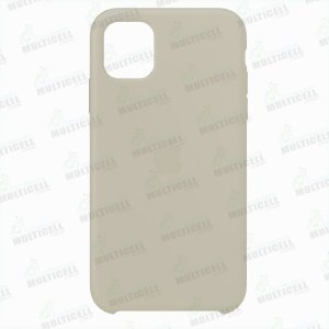 CAPA CASE SILICONE APLLE IPHONE 11 MWVX2ZM/A CINZA CLARO