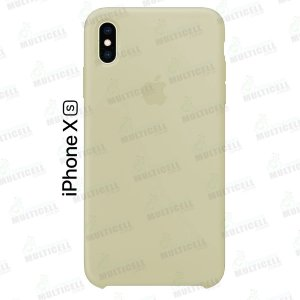 CAPA CASE SILICONE APLLE IPHONE XS MMWF2ZM/A CREME CLARO