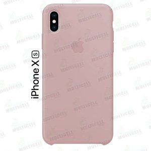 CAPA CASE SILICONE APLLE IPHONE XS MMWF2ZM/A ROSA CLARO