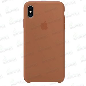 CAPA CASE SILICONE APLLE IPHONE XS MMWF2ZM/A MARRON
