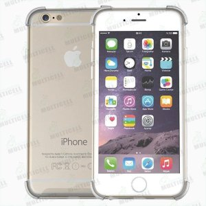 CAPA CASE SILICONE TPU TRANSPARENTE ANTI-SHOCK ANTI-IMPACTO APLLE IPHONE 6