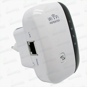 REPETIDOR DE WIFI REPEATER WIRELESS 300mbps COM WPS BRANCO CL-WR03