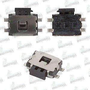 CONECTOR CHAVE POWER VOLUME XT1620 XT1621 XT1622 XT1625 XT1626 MOTO G4 - XT1640 XT1644 MOTO G4 PLUS