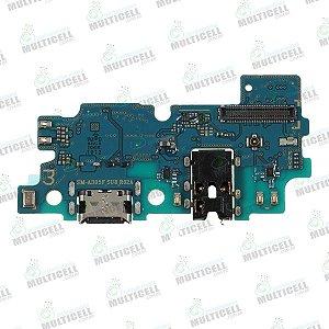 PLACA FLEX CONECTOR USB DOCK DE CARGA SAMSUNG A305 GALAXY A30 1ªLINHA QUALIDADE AAA