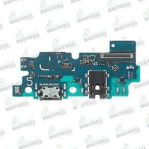 PLACA FLEX CONECTOR USB DOCK DE CARGA SAMSUNG A505 GALAXY A50 1ªLINHA QUALIDADE AAA
