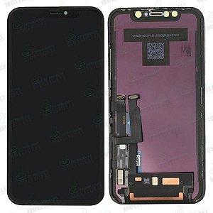 GABINETE FRONTAL DISPLAY LCD MODULO COMPLETO APPLE IPHONE XR OLED 1ªLINHA QUALIDADE AAA