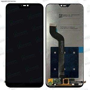 GABINETE FRONTAL DISPLAY LCD MODULO COMPLETO XIAOMI REDMI 6 PRO PRETO 1ªLINHA (QUALIDADE AAA)