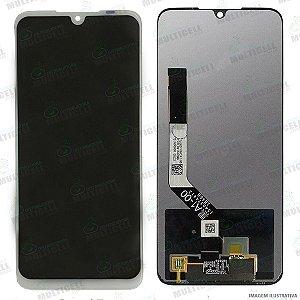 GABINETE FRONTAL DISPLAY LCD XIAOMI REDMI NOTE 7 M1901F7G / NOTE 7 PRO M1901F7BE BRANCO 1ªLINHA QUALIDADE AAA