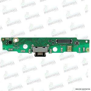FLEX PLACA DOCK CONECTOR DE CARGA USB MOTOROLA XT1955 MOTO G7 POWER 1ªLINHA QUALIDADE AAA