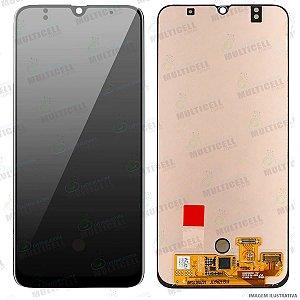 GABINETE FRONTAL DISPLAY LCD MODULO COMPLETO SAMSUNG A505 GALAXY A50 (ORIGINAL IMPORTADO OLED)