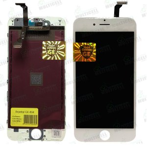 GABINETE FRONTAL DISPLAY LCD MODULO COMPLETO APPLE IPHONE 6 GE-804 BRANCA GOLD EDITION