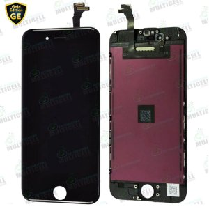 GABINETE FRONTAL DISPLAY LCD MODULO COMPLETO APPLE IPHONE 6 GE-804 PRETO GOLD EDITION