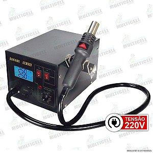 ESTACAO DE RETRABALHO DIGITAL SOPRADOR HIKARI HK-939 HK 939 220V