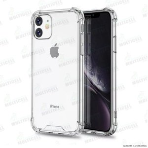 CAPA CASE SILICONE TPU TRANSPARENTE ANTI-SHOCK ANTI-IMPACTO APLLE IPHONE 11