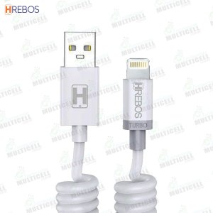 CABO ESPIRAL USB 3.1A 1.6M TURBO HREBOS HS-139 MICRO LIGHTNING IPHONE