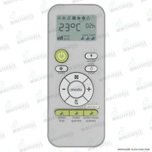 CONTROLE AR CONDICIONADO CONSUL FBG-9018 SKY-9018