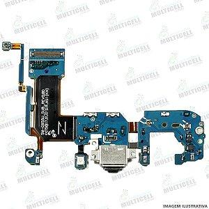 FLEX CONECTOR DOCK DE CARGA SAMSUNG G955U GALAXY S8 PLUS / S8+ ORIGINAL (VERSÃO G955-U)