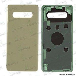 TAMPA VIDRO TRASEIRO DA BATERIA SAMSUNG N950 N950F GALAXY NOTE 8 DOURADO 1ªLINHA (QUALIDADE AAA)
