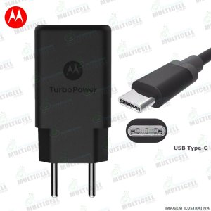 CARREGADOR TURBO POWER 5V=3A MODELO MICRO USB TIPO C ORIGINAL