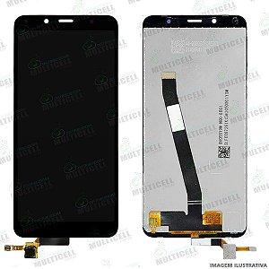 GABINETE FRONTAL DISPLAY LCD MODULO COMPLETO XIAOMI REDMI 7A M1903C3EG 1ªLINHA (QUALIDADE AAA)