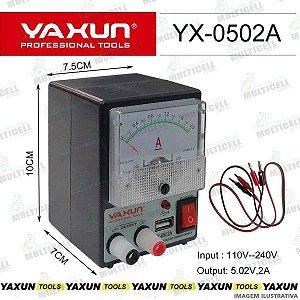 MINI FONTE DE ALIMENTAÇÃO YAXUN YX-0502 5V-2A BIVOLT